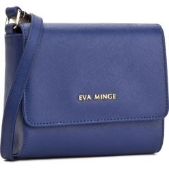 Torebka EVA MINGE - Odalis 2F 17NB1372170EF  407. Niebieskie listonoszki damskie marki Eva Minge, ze skóry ekologicznej. W wyprzedaży za 199,00 zł.