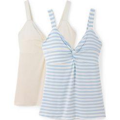 Bluzki damskie: Koszulka na ramiączkach (zestaw 2 sztuk)