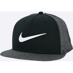 Nike Sportswear - Czapka. Czarne czapki z daszkiem męskie Nike Sportswear, z bawełny. W wyprzedaży za 69,90 zł.