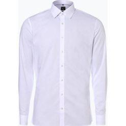 OLYMP No. Six - Koszula męska łatwa w prasowaniu, czarny. Czarne koszule męskie non-iron marki OLYMP No. Six, m. Za 229,95 zł.