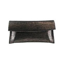 Puzderka: Skórzana kopertówka w kolorze czarnym – (S)30 x (W)16 x (G)5 cm