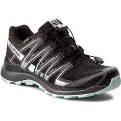 Buty SALOMON - Xa Lite Gtx GORE-TEX 393326 20 V0 Black/Magnet/Fair Aqua. Czarne buty do biegania damskie marki Salomon, z gore-texu, na sznurówki, gore-tex. W wyprzedaży za 379,00 zł.