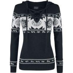 Supernatural Symbol Sweter damski czarny/szary. Czarne swetry klasyczne damskie Supernatural, l, z materiału. Za 199,90 zł.