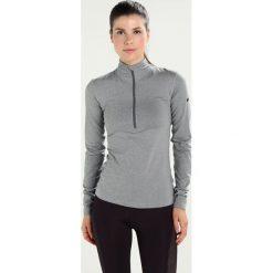Nike Performance PRO WARM  Koszulka sportowa dark grey heather/dark grey/black. Szare t-shirty damskie Nike Performance, l, z elastanu, z długim rękawem. W wyprzedaży za 153,30 zł.