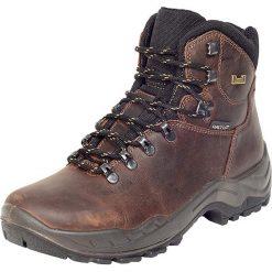 """Buty trekkingowe męskie: Skórzane buty trekkingowe """"Vito DX"""" w kolorze brązowym"""