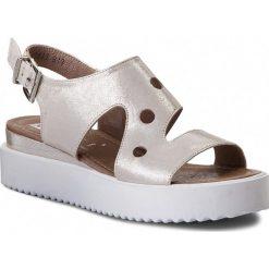 Sandały damskie: Sandały NESSI – 18361 Bianco Mp
