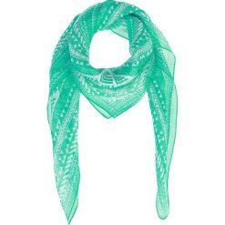 Chusty damskie: Chusta w kolorze turkusowym – 90 x 90 cm