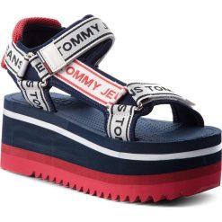Rzymianki damskie: Sandały TOMMY JEANS – Tommy JeansTechnical Sandal EN0EN00342 Midnight 403
