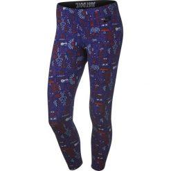 Legginsy sportowe damskie 3/4 NIKE LEG-A-SEE CROPPED LEGGING / 777558-455 - NIKE LEG-A-SEE CROPPED LEGGING. Niebieskie legginsy we wzory marki Nike. Za 69,00 zł.