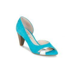 Sandały Betty London  IMIMI. Niebieskie sandały damskie marki Betty London. Za 230,30 zł.
