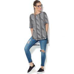Colour Pleasure Koszulka damska CP-033 289 szara r. uniwersalny. Różowe bluzki damskie marki Colour pleasure. Za 76,57 zł.