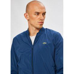 Lacoste - Kurtka bomber. Niebieskie kurtki męskie bomber Lacoste, m, z materiału. W wyprzedaży za 679,90 zł.