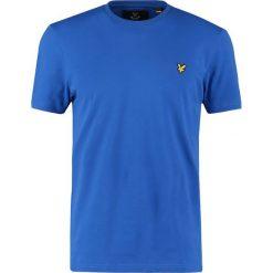 T-shirty męskie: Lyle & Scott CREW NECK Tshirt basic lake blue