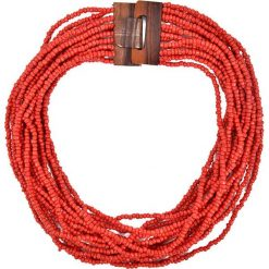Naszyjniki damskie: Naszyjnik w kolorze czerwonym – (D)57 cm