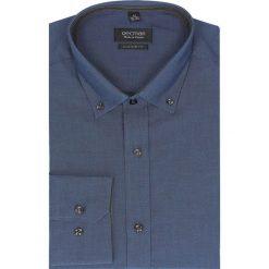 Koszula bexley 2518 długi rękaw custom fit granatowy. Niebieskie koszule męskie jeansowe marki Recman, na lato, m, button down, z długim rękawem. Za 89,99 zł.