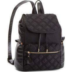 Plecak JENNY FAIRY - RC11426 Black. Czarne plecaki damskie Jenny Fairy, z materiału, eleganckie. Za 119,99 zł.