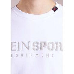 Plein Sport FIND ME Bluza white/silver. Białe bluzy męskie Plein Sport, m, z bawełny. W wyprzedaży za 509,50 zł.