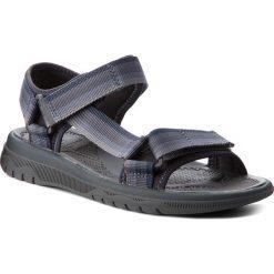 Sandały CLARKS - Balta Reef 261327967 Grey. Czarne sandały męskie marki Clarks, z materiału. W wyprzedaży za 159,00 zł.