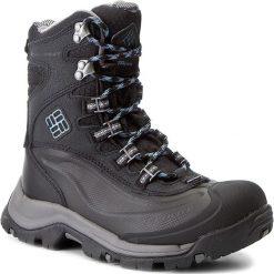 Śniegowce COLUMBIA - Bugaboot Plus III Omni-Heat BL1620 Black/Dark Mirage 010. Czarne buty zimowe damskie Columbia, z materiału, na niskim obcasie. W wyprzedaży za 439,00 zł.