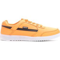 Buty sportowe męskie: Pomarańczowe Buty Sportowe Heavy