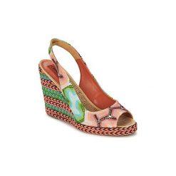 Sandały Missoni  XM031. Czerwone sandały trekkingowe damskie marki Missoni. Za 1159,20 zł.