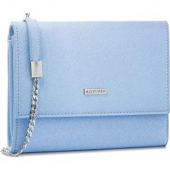 Torebka WITTCHEN - 86-4Y-103-N Niebieski. Niebieskie torebki klasyczne damskie marki Wittchen, ze skóry ekologicznej. W wyprzedaży za 119,00 zł.