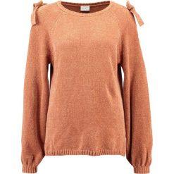 Swetry damskie: Vila VICAP  Sweter copper brown