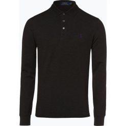 Polo Ralph Lauren - Męska koszulka polo – Slim fit, szary. Szare koszulki polo marki Polo Ralph Lauren, m, z długim rękawem. Za 529,95 zł.