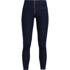 Vila VIFENELLA 7/8  Jeans Skinny Fit dark blue. Niebieskie boyfriendy damskie Vila. W wyprzedaży za 188,10 zł.