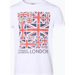 Finshley & Harding London - T-shirt męski, czarny. Czarne t-shirty męskie z nadrukiem Finshley & Harding London, m. Za 69,95 zł.