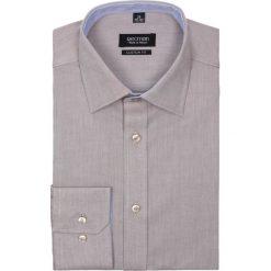 Koszula bexley 2366 długi rękaw custom fit brąz. Szare koszule męskie na spinki marki Recman, na lato, l, w kratkę, button down, z krótkim rękawem. Za 89,99 zł.