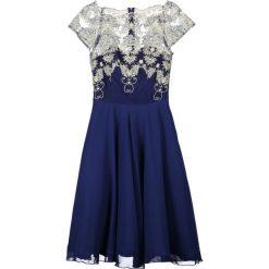 Sukienki hiszpanki: Chi Chi London Tall RIRI Sukienka koktajlowa navy