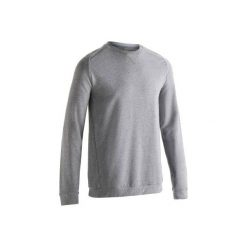 Bluza Gym & Pilates 500 męska. Szare bluzy męskie DOMYOS, m, z bawełny. Za 39,99 zł.