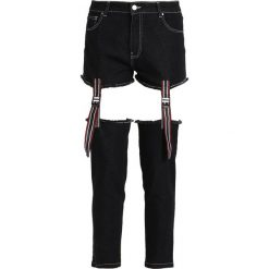 Rurki damskie: Jaded London WITH CUT OUT TAPE DETAIL Jeansy Slim Fit black