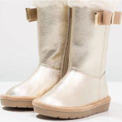 Michael Kors ZIAGRACE JOANT Kozaki gold. Żółte buty zimowe damskie marki Michael Kors, z materiału, na wysokim obcasie. W wyprzedaży za 382,85 zł.