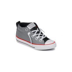 Buty Dziecko Converse  CHUCK TAYLOR ALL STAR STREET MID. Szare trampki chłopięce marki Converse, retro. Za 239,00 zł.