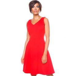 """Sukienki hiszpanki: Sukienka """"Ninon"""" w kolorze czerwonym"""