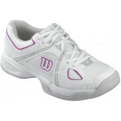 Buty sportowe damskie: Wilson Buty Tenisowe Nvision Envy W White/Grey/Pink 41.3