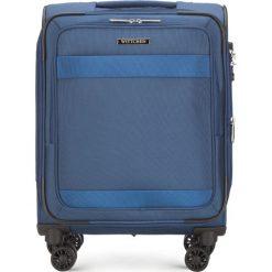 Walizka kabinowa 56-3S-581-90. Niebieskie walizki marki Wittchen, małe. Za 349,00 zł.