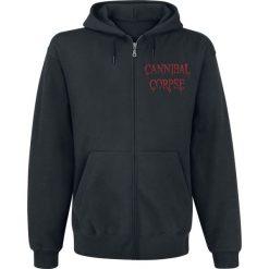 Cannibal Corpse Red Before Black Bluza z kapturem rozpinana czarny. Czarne bejsbolówki męskie Cannibal Corpse, s, z kapturem. Za 144,90 zł.