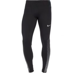 Kalesony męskie: Nike Performance POWER FLASH RUN GRAPHIC Legginsy black/reflective silver