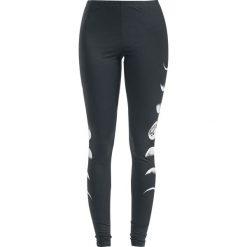 Gothicana by EMP Built For Comfort Legginsy czarny. Czarne legginsy we wzory Gothicana by EMP, xl, z materiału. Za 99,90 zł.