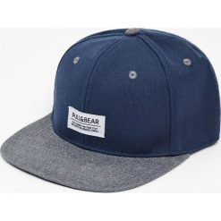 Czapki z daszkiem męskie: Granatowa czapka