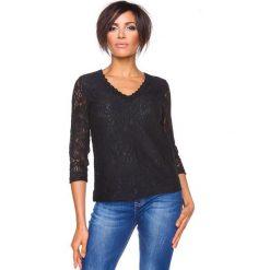 """T-shirty damskie: Koszulka """"Yvonne"""" w kolorze czarnym"""