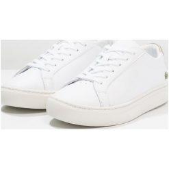 Lacoste L.12.12 Tenisówki i Trampki white/gold. Białe buty sportowe dziewczęce Lacoste, z materiału. Za 359,00 zł.