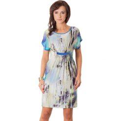 Sukienki hiszpanki: Sukienka w kolorze fioletowo-czarnym