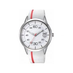 Biżuteria i zegarki męskie: Zegarek Q&Q Męski Q982-301 biały