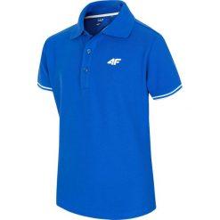 Bluzki dziewczęce: Koszulka polo dla dużych chłopców JTSM227 – niebieski