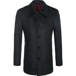 Płaszcz ALFREDO 14-69LK. Czarne płaszcze na zamek męskie marki Giacomo Conti, m, z wełny, eleganckie. Za 499,00 zł.