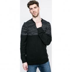 Blend - Sweter. Niebieskie swetry klasyczne męskie marki Reserved, l, z okrągłym kołnierzem. W wyprzedaży za 69,90 zł.